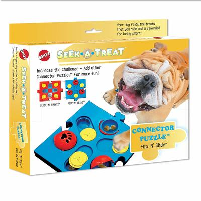 Seek-A-Treat Flip N Slide Connector Puzzle Toy