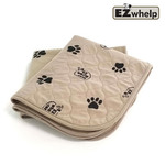 EZwhelp Light Brown 3-ply Paw Print Pad/Mat - L1, 2шт.