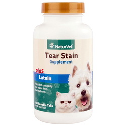 NaturVet® Tear Stain Supplement, 60 таб.